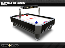 Playable Air Hockey Table ™