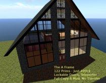 Low Prim Modern A-frame Type Home