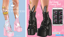 DIRTY PRINCESS- Bad Bunny Princess Boots w/Hud 21 Colors