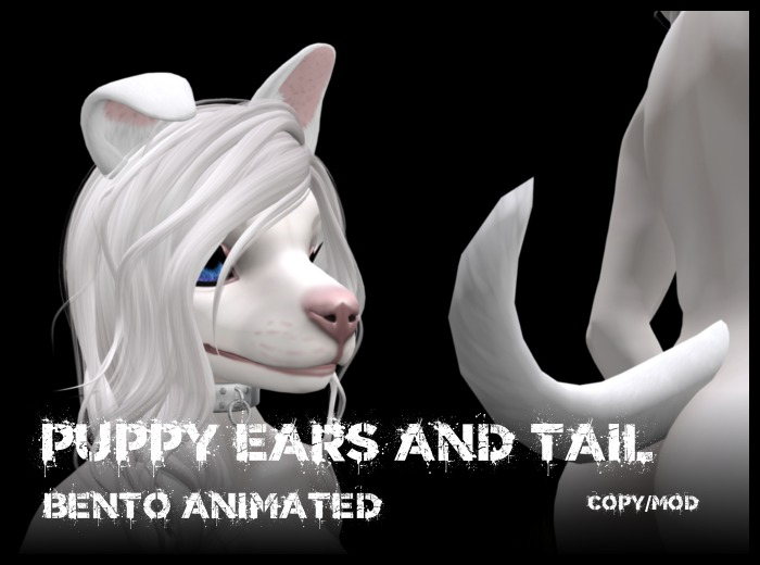 !Boneworks! > Puppy Tail & Ears (boxed)