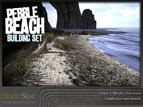 Skye Pebble Beach Building Set