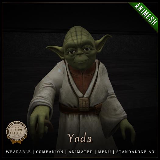 [C] Animesh Follower - Yoda (Wear)