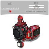 :::SOLE::: SA - Armtech Mk.4 (RED)