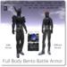 Blackburns Battle Armor Full Body Bento Swords & Extras