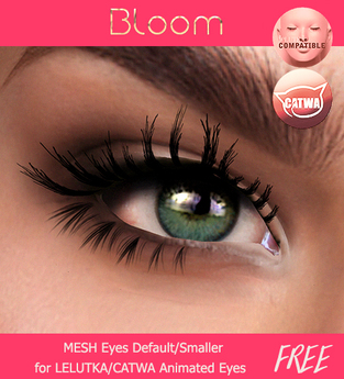 BLOOM - Eyes ANA Collection MESH-EYES/LELUTKA/CATWA Applier