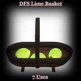DFS Lime Basket
