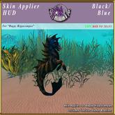 *E* Happy Hippocampus Skin Applier [BOXED] Black/ Blue