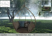 .:Bee designs::.Gigi Hanging Chair Blue PG