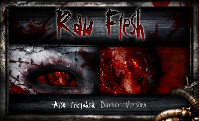 REPULSE - Raw Flesh Eyes (Vampire Eyes, Demon Eyes, Zombie Eyes, Lycan Eyes, Drow Eyes, Elf Eyes)