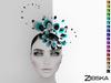 Zibska [50L Closeout] ~ Ophelia Color Change Headpiece