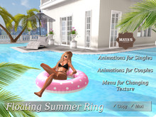 Maya's - Floating Summer Ring with Animations