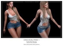 Lyrium. Girls Dual Pose 1