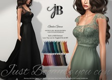 *Just BECAUSE* Gala Gown - FatPack - Maitreya, Belleza, Slink