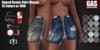 GAS [Zipped Denim Skirt Megan - 15 Colors w/HUD FATPACK] Demo