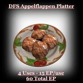 DFS TEXTURE - DFS Appelflappen Platter