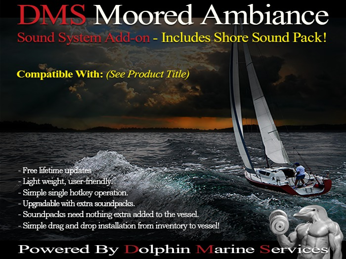 DMS Moored Ambiance add-on (TMS Pacha 110)