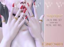 -CINCHIO- Zalya Rings Set