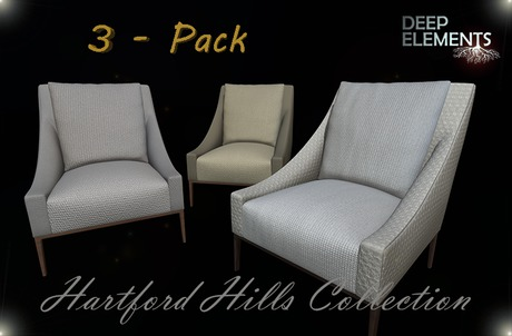 [DeepElements] - Hartford Hills Collection (3-Pack)