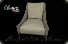 [DeepElements] : (HHC) - Beige Fabric Chair