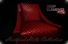 [DeepElements] : (HHC) - Red Leather Chair