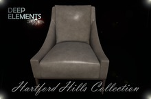 [DeepElements] : (HHC) - Tan Leather Chair