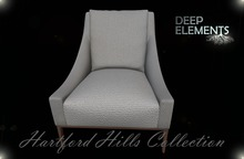 [DeepElements] : (HHC) - White Fabric Chair #2