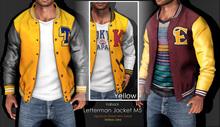 <Kalback> Letterman Jacket M5 Yellow