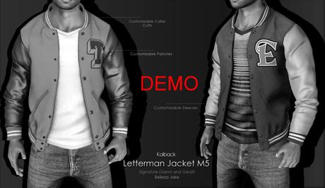 <Kalback> Letterman Jacket M5 DEMO