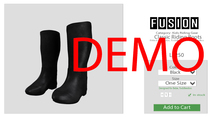 [FUSION] Kid's Classic Riding Boots. - DEMO