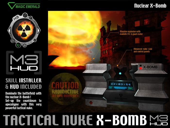 ☢ X-Bomb Tactical Nuke ☢ [M3-HUD+Installer]