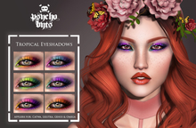 .{PSYCHO:Byts}. Tropical Eyeshadows Pack