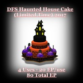 DFS TEXTURE - DFS HW Haunted House Cake