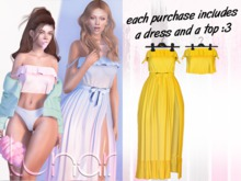 Lunar - Susy Top & Dress - Sunflower