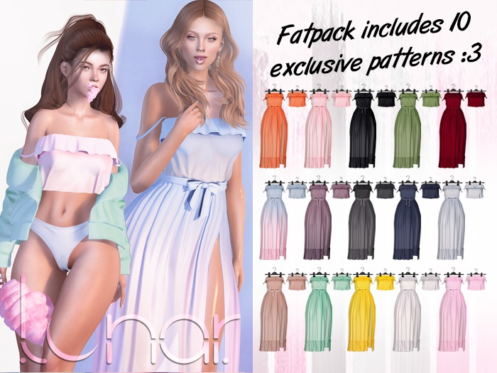 Lunar - Susy Top & Dress - FATPACK
