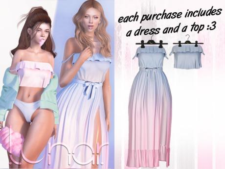 Lunar - Susy Top & Dress - Dawn