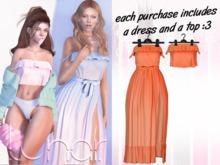Lunar - Susy Top & Dress - Apricot