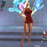 EC Flora Dress Red