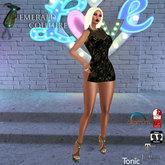 EC Flora Dress Black