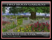 TMG - BENEATH THE OAK* Landscaped Garden with animated crows