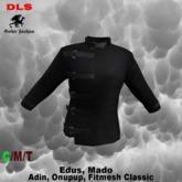 Gothic jacket black boxed