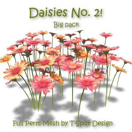 T-Spot Mesh - Daisies No. 2 - Big Pack - Full Perm - LI=0.5-1.3