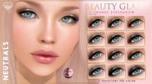 [PF] GENUS EYESHADOW Applier - Beauty Glaze - NEUTRALS