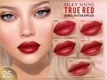 [PF] GENUS HD LIPSTICK Applier - Silky Shine (True Red)