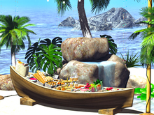 <Aphrodite> Food Boat - Ideal party Buffet for Wedding, Birthday or Rezzday!