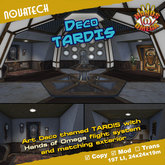 Deco TARDIS - Hands of Omega (HoO) Console