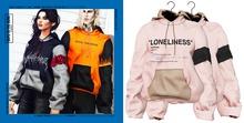 BOYS TO THE BONE tackt hoodie - pink/beige