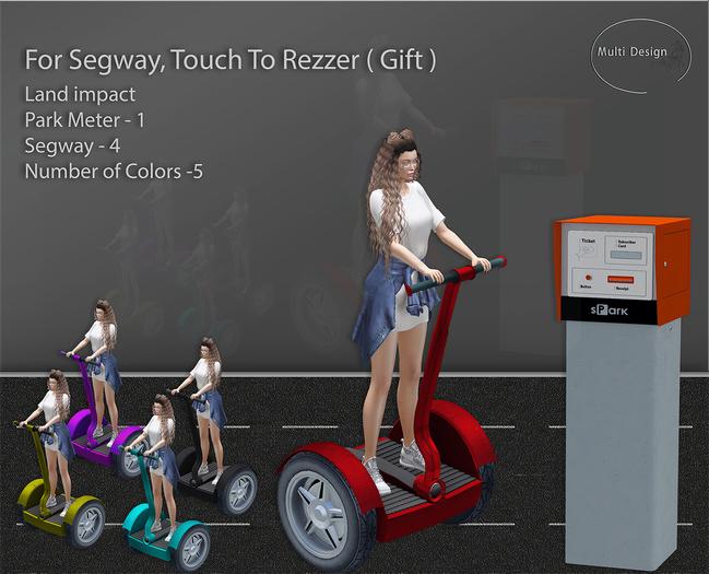 Segway Park Meter ( Rezzer) Gift Pack