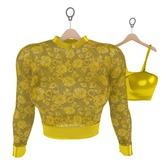 Genetic Bang Bang Sweater and Top (Maitreya) Yellow
