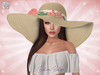 ♥ Natural Tropico Summer Floppy Hat ♥