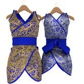 Genetic Summer Dragon Dress (Maitreya) Blue